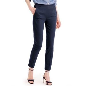 J. Crew Martie high waisted skinny pants in Navy 2
